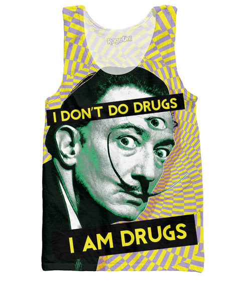 Salvador Dali on Drugs Tank Top