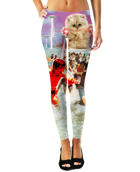 The Kitten No One Loved Leggings
