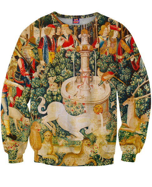 Unicorn Fountain Sweatshirt