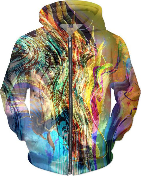 Real Feather Dragon 3 Hoodie