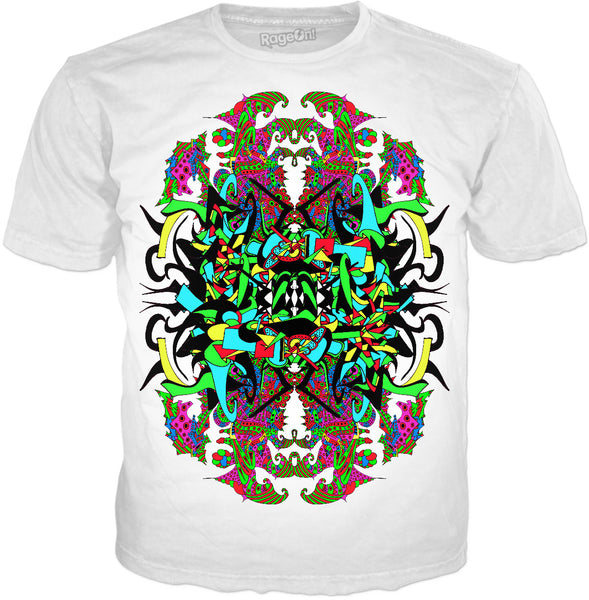 Super Trippy Psychedelic Crest T-Shirt