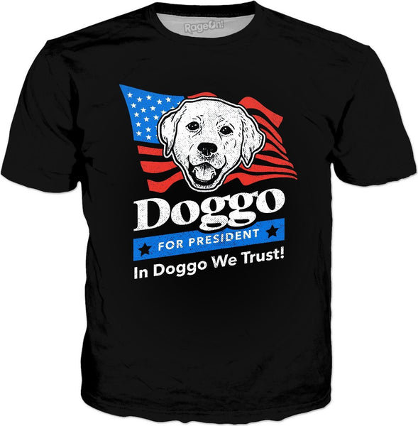 Doggo For President T-Shirt