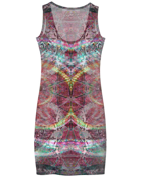 Hyperdimensional Butterfly Simple Dress