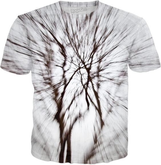 Abstract Snow Tree 1 T-Shirt