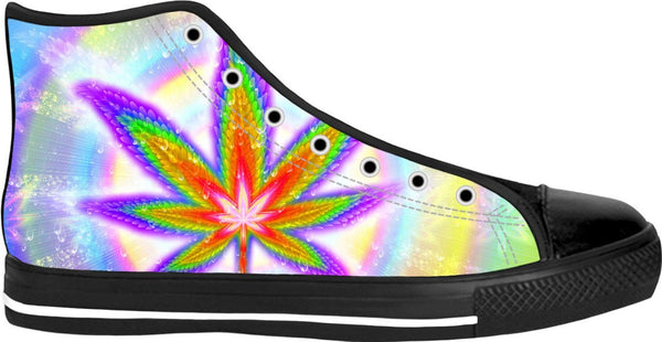 Cannabliss Black High Tops