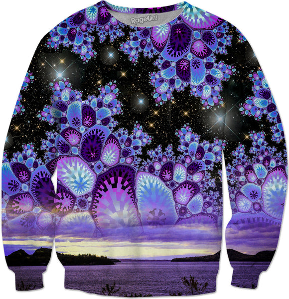 Purple Diamond Sky Sweatshirt