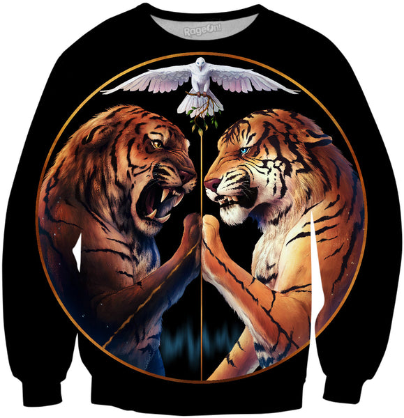 Peace Tiger Sweater
