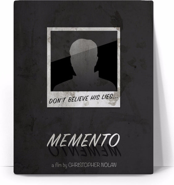 Memento Movie Poster Canvas