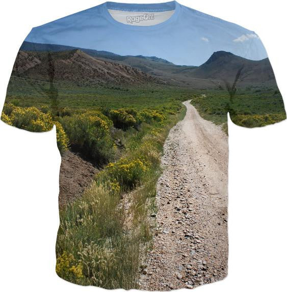 Road In Mountains T-Shirt