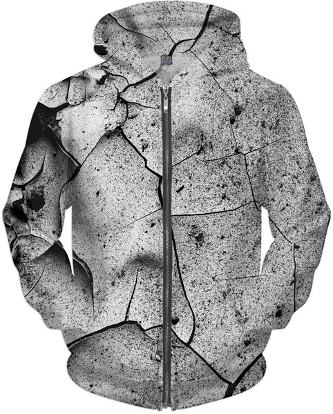 Abstract Cracks Hoodie
