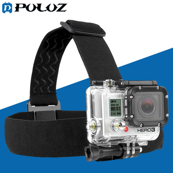 Go Pro Accessories Elastic Mount Belt Adjustable Head Strap for GoPro HERO 5 Session GoPro HERO 4 Session /5/4 /3+ /3 / SJ4000