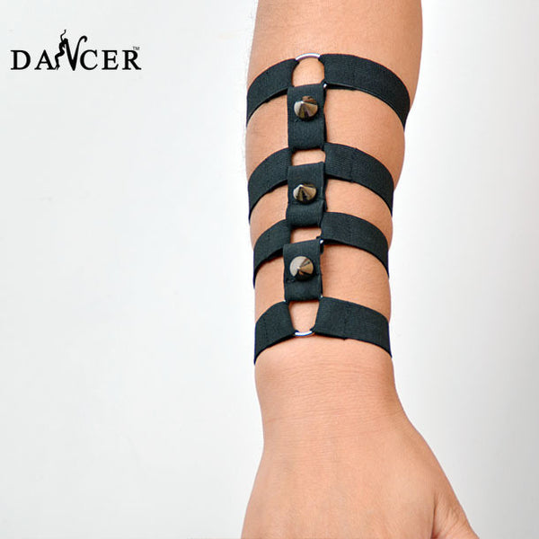 2016 New sexy Armlet arm piece bracelet strap wristband harness Rose with harness cage bondage Hand tied with Rave Wear