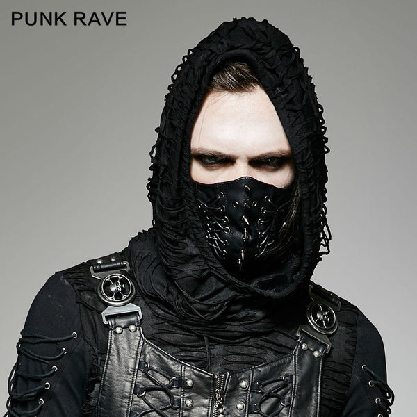 Punk Rave Brand New Gothic Steampunk Men stylish fahison Pin MASK S182