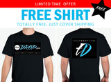 FREE thatDROP Branded Black T-Shirt (2 sided)