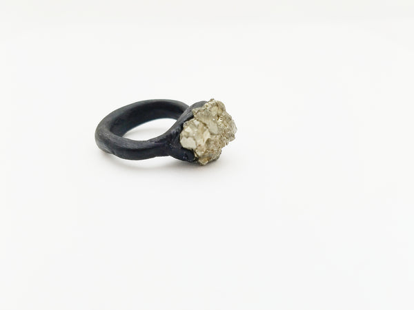 PYRITE: Size 3.5 Ring