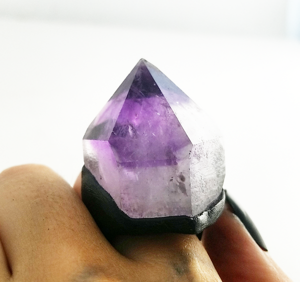 AMETHYST: Size 9 Ring