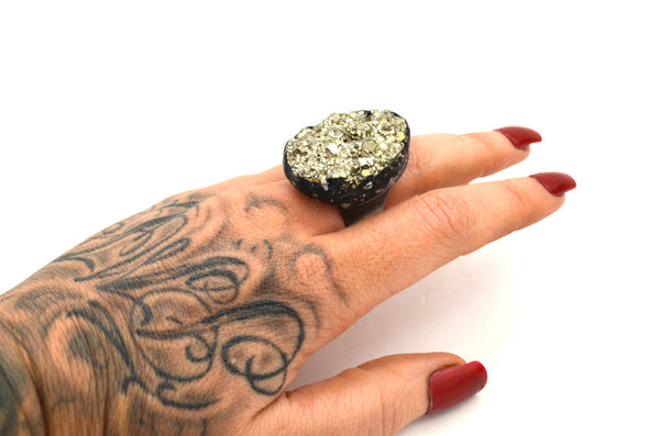 PYRITE: Adjustable Ring