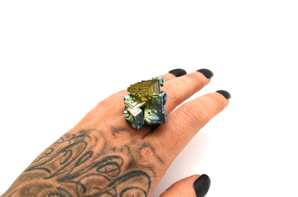 BISMUTH: Size 5.5 Ring