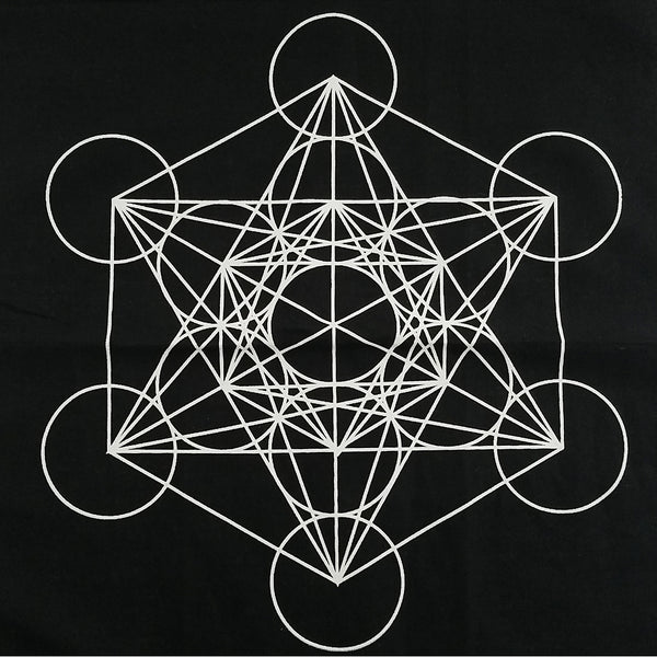 CRYSTAL GRID: Metatron black or white
