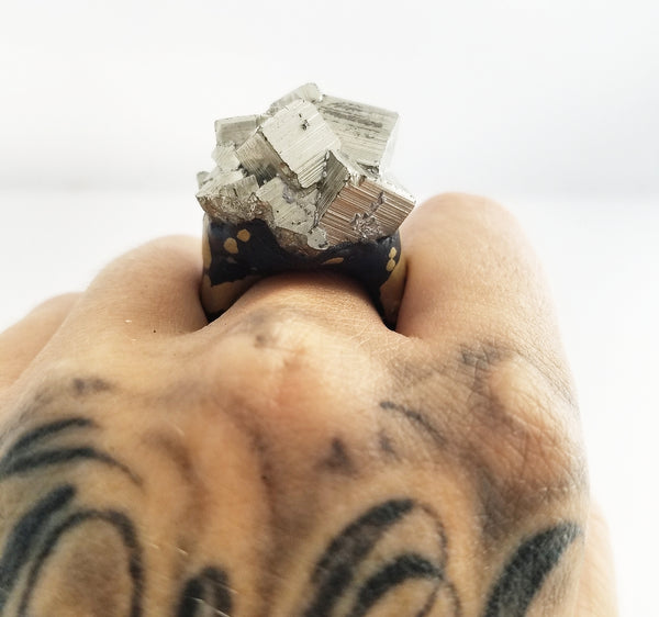 PYRITE: Size 6.5 Ring