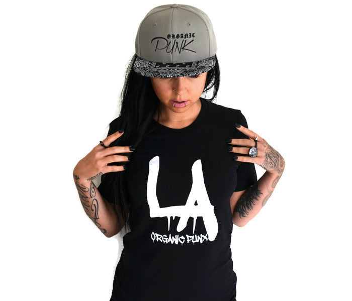 Sale! L.A. ORGANIC PUNX: unisex T-shirt  blue or black