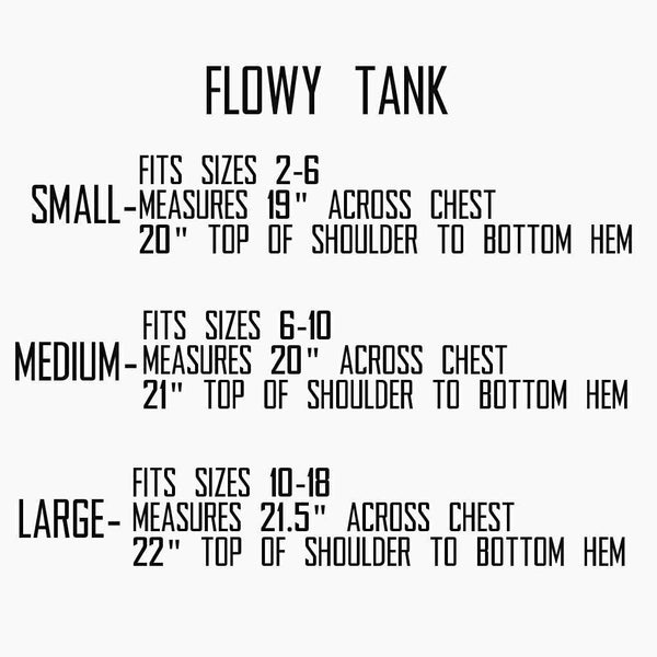 Sale! LOVE: womens flowy tank