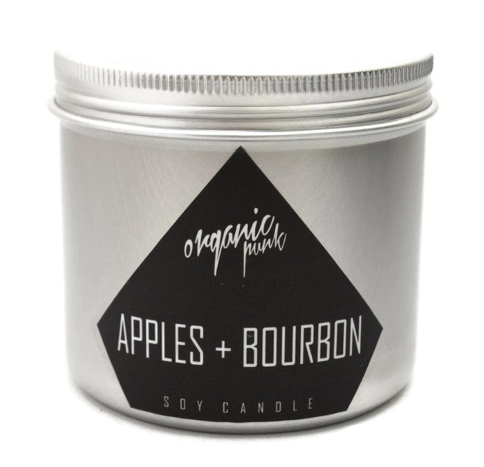 Sale! APPLE BOURBON: Soy Candle  12 oz Jar