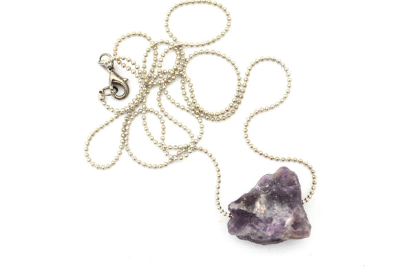 Sale! AMETHYST: Rock Candy Necklace