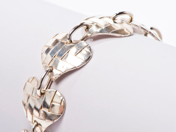 Weaved Heart Bracelet