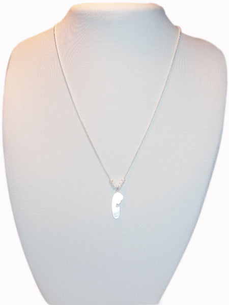Silver Virgin Necklace
