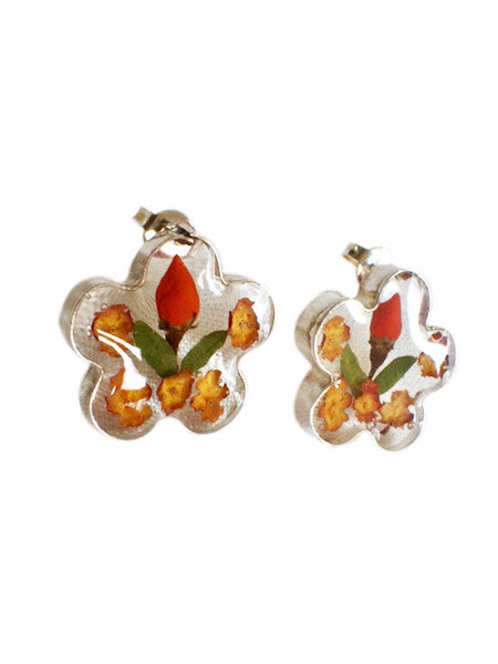 Still Life Flower Earrings