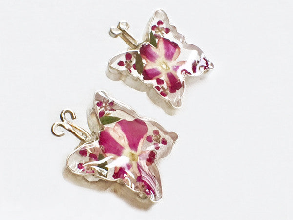 Still Life Butterfly Earrings