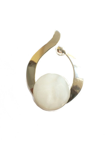 White Shell Pendant