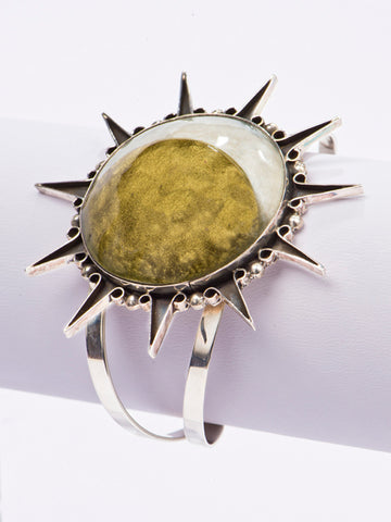 Big Eclipse Cuff Bracelet
