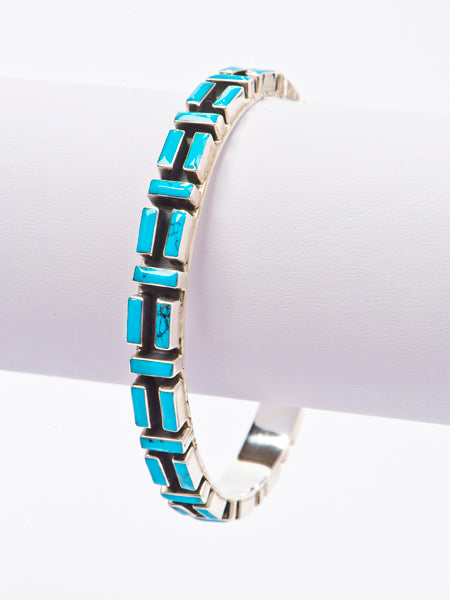 Kingman Turquoise Bangle