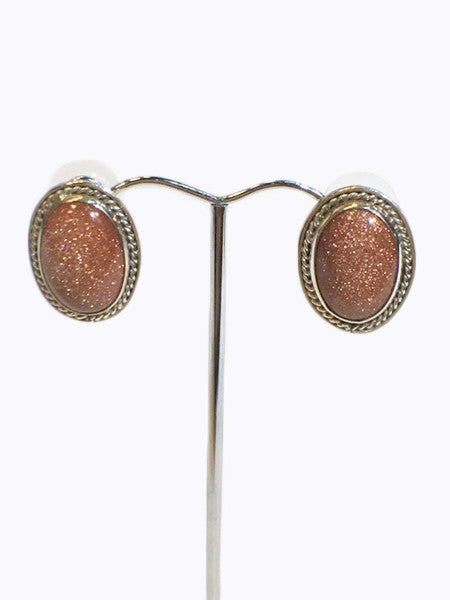 Brown Aventurine Earrings