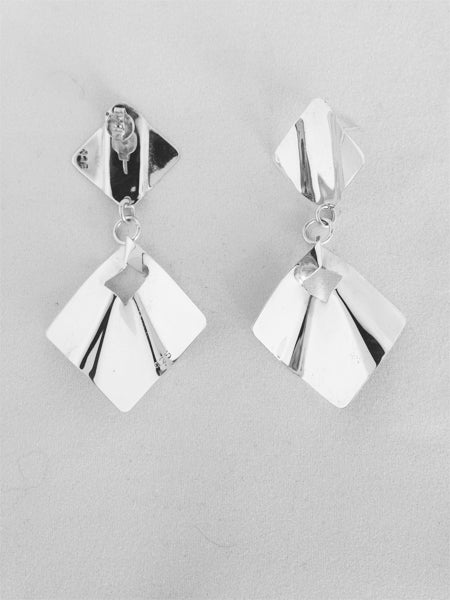 Bent Square Earrings