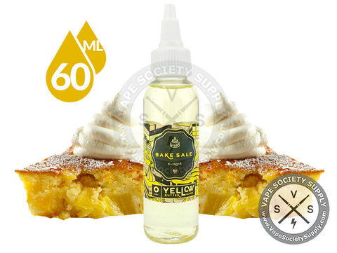Yellow Butter Cake by Bake Sale E-Liquid 60ml