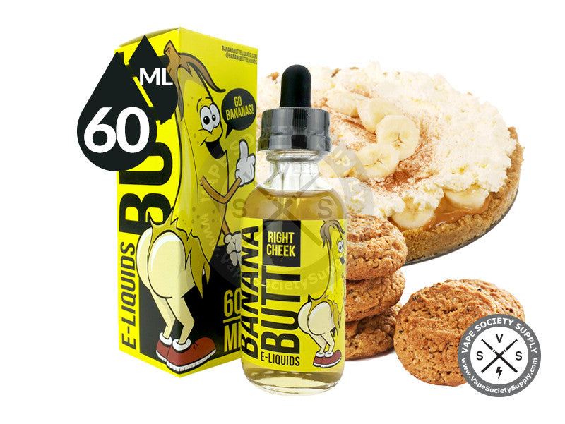 Right Cheek Ejuice by Banana Butt 60ml