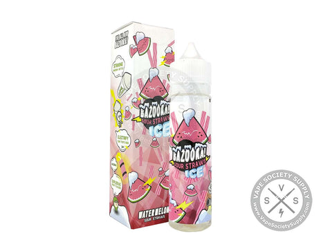 Watermelon Sour Straws Ice by Bazooka Ice 60ml