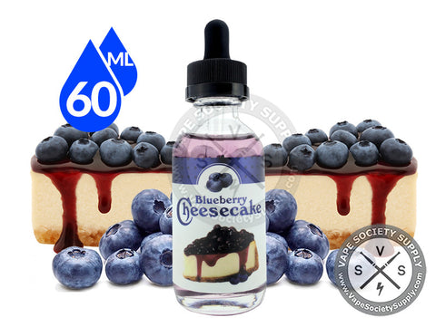 Blueberry Cheesecake E-Juice by Aqua Liquids 60ml