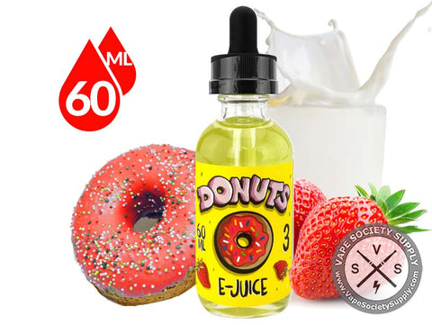 Strawberry Donuts EJuice 60ml