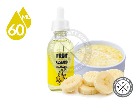 Banana by Fruit N Custard 60ml