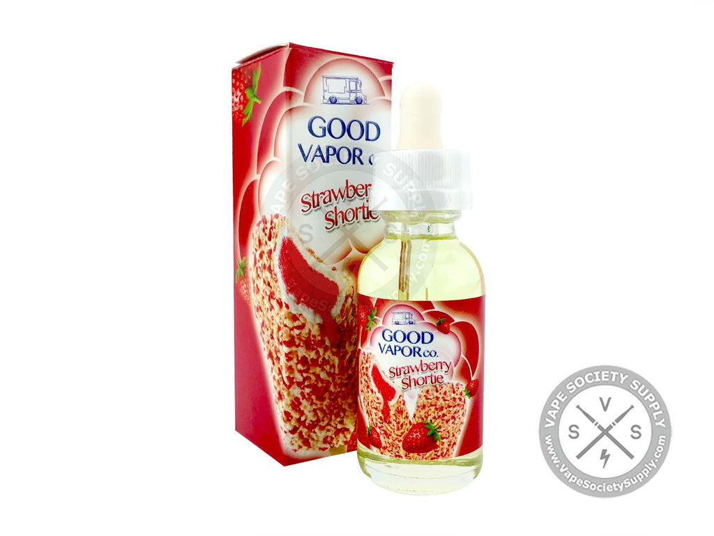 Strawberry Shortie by Good Vapor Co. 30ml