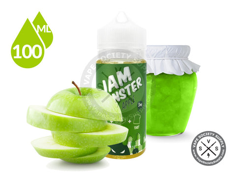 Apple EJuice by Jam Monster 100ml
