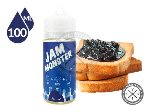Blueberry EJuice by Jam Monster 100ml
