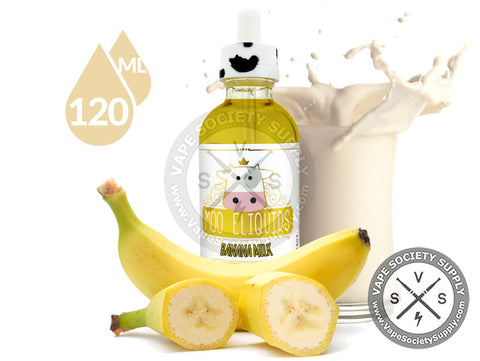 Banana Milk by Moo E-Liquids 120ml