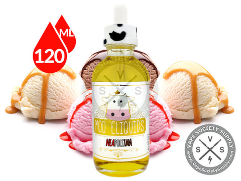 Neapolitan by Moo E-Liquids 120ml