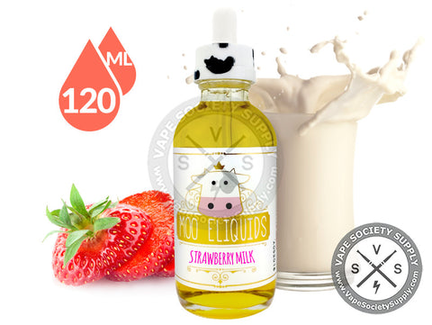 Strawberry Milk by Moo E-Liquids 120ml