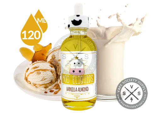 Vanilla Almond Milk by Moo E-Liquids 120ml